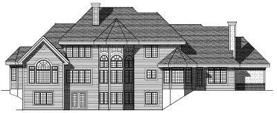 Rear Elevation Plan: 7-312