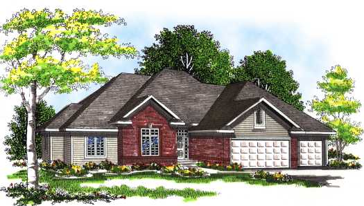 Traditional Style House Plans Plan: 7-314