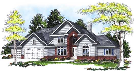 Traditional Style House Plans Plan: 7-315