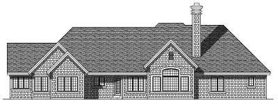 Rear Elevation Plan: 7-318