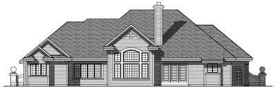 Rear Elevation Plan: 7-326