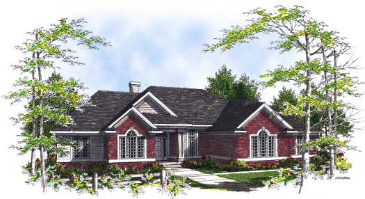 Traditional Style Floor Plans Plan: 7-327