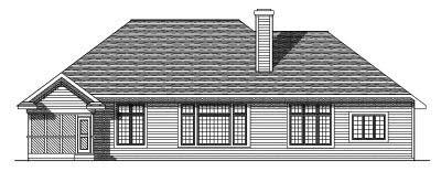 Rear Elevations Plan:7-327