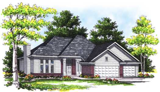 Traditional Style Floor Plans Plan: 7-328