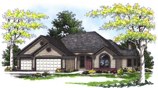Traditional Style House Plans Plan: 7-330