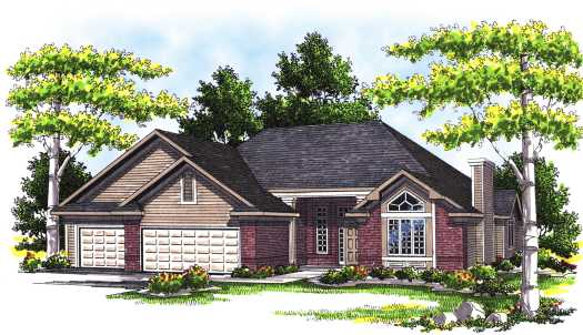 Traditional Style House Plans Plan: 7-331