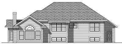 Rear Elevation Plan: 7-331