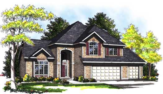 Traditional Style Floor Plans Plan: 7-333