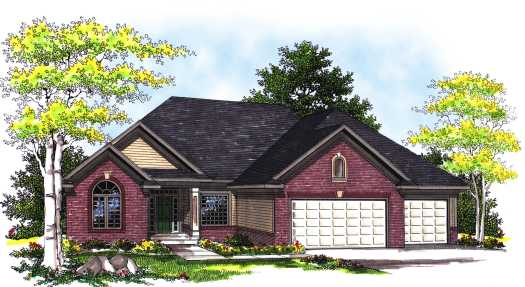 Traditional Style Floor Plans Plan: 7-335