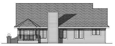 Rear Elevations Plan:7-338