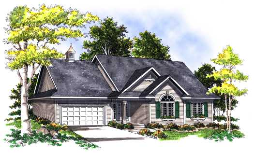 Traditional Style House Plans Plan: 7-339
