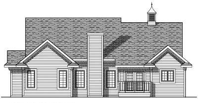 Rear Elevations Plan:7-339