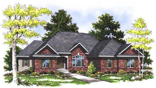 Traditional Style Floor Plans Plan: 7-346