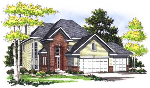 Traditional Style Floor Plans Plan: 7-352