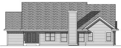 Rear Elevation Plan: 7-353