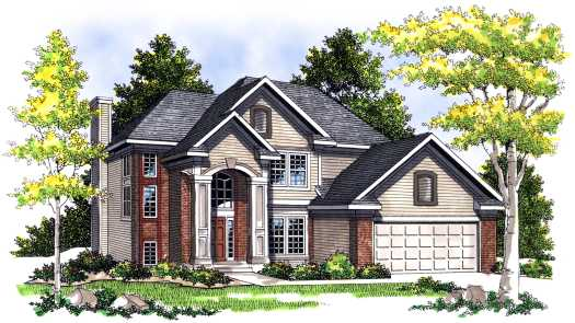 Traditional Style Floor Plans Plan: 7-355