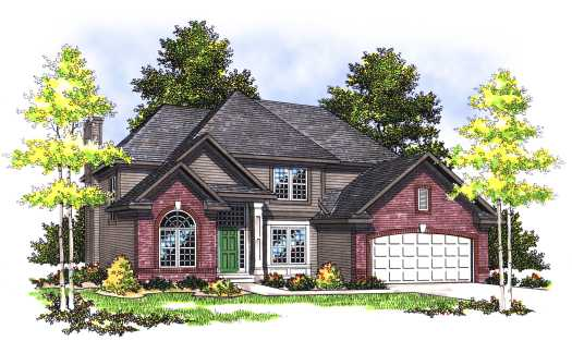 Traditional Style House Plans Plan: 7-356