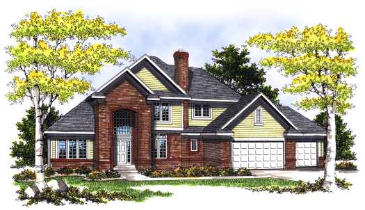 Traditional Style House Plans Plan: 7-360
