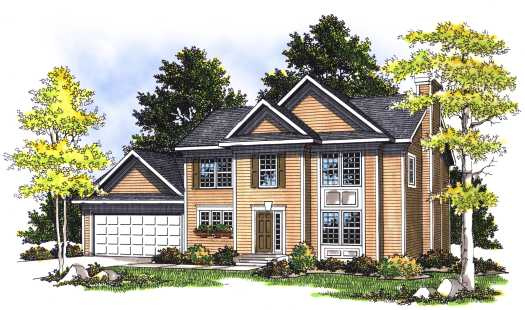 Traditional Style House Plans Plan: 7-363