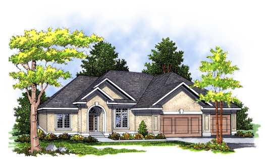 Traditional Style Floor Plans Plan: 7-367