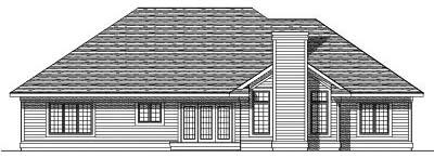 Rear Elevation Plan: 7-367