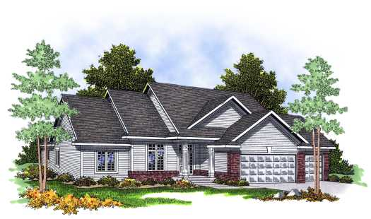 Traditional Style Floor Plans Plan: 7-369