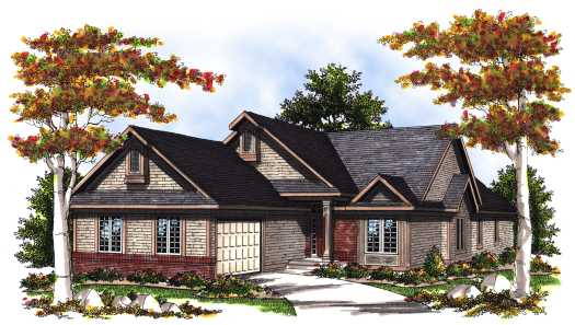 Traditional Style House Plans Plan: 7-370