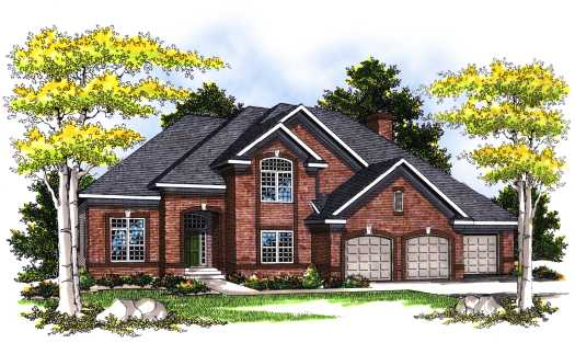 Traditional Style Floor Plans Plan: 7-371