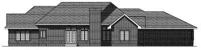 Rear Elevation Plan: 7-373