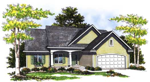 Traditional Style House Plans Plan: 7-375