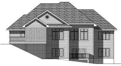 Rear Elevation Plan: 7-380