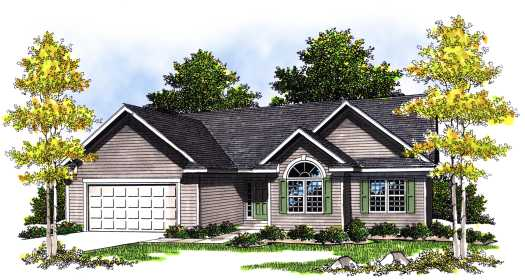 Traditional Style Floor Plans Plan: 7-381