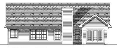 Rear Elevations Plan:7-381