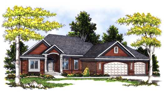 Traditional Style House Plans Plan: 7-383
