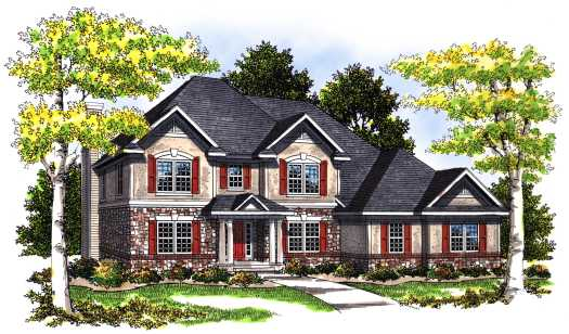 Traditional Style House Plans Plan: 7-385