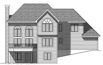 Rear Elevation Plan: 7-389