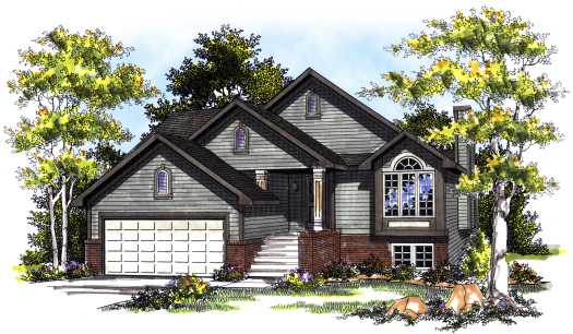 Traditional Style Floor Plans Plan: 7-390