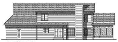 Rear Elevation Plan: 7-394