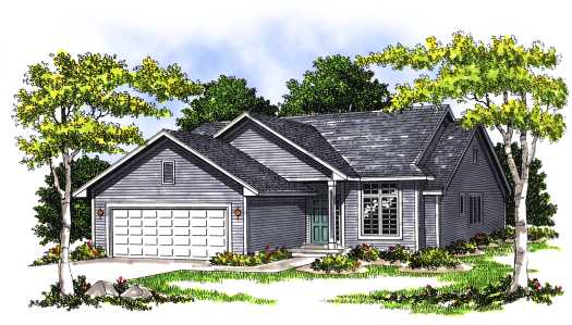 Traditional Style House Plans Plan: 7-397
