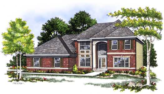 Traditional Style Floor Plans Plan: 7-399