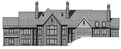 Rear Elevation Plan: 7-401