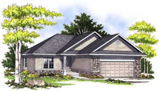 Traditional Style Floor Plans Plan: 7-403