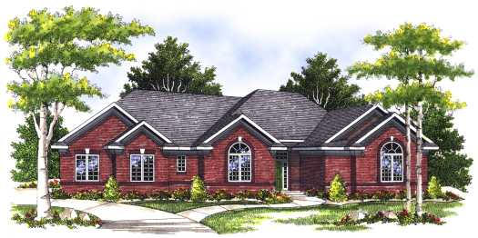 Traditional Style House Plans Plan: 7-404