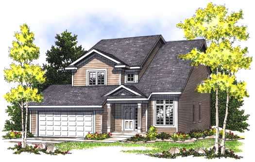 Traditional Style House Plans Plan: 7-409