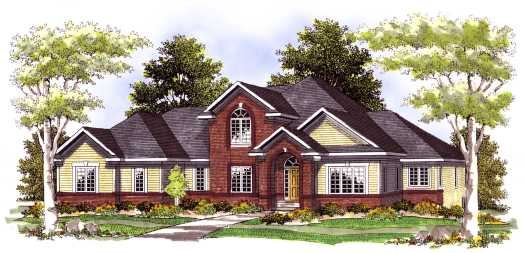 Traditional Style House Plans Plan: 7-426
