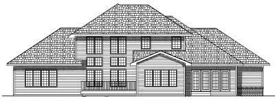Rear Elevation Plan: 7-426