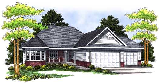 Traditional Style House Plans Plan: 7-429