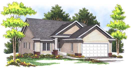 Traditional Style House Plans 7-430