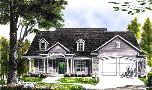 Traditional Style House Plans Plan: 7-435