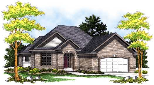 Traditional Style House Plans Plan: 7-446